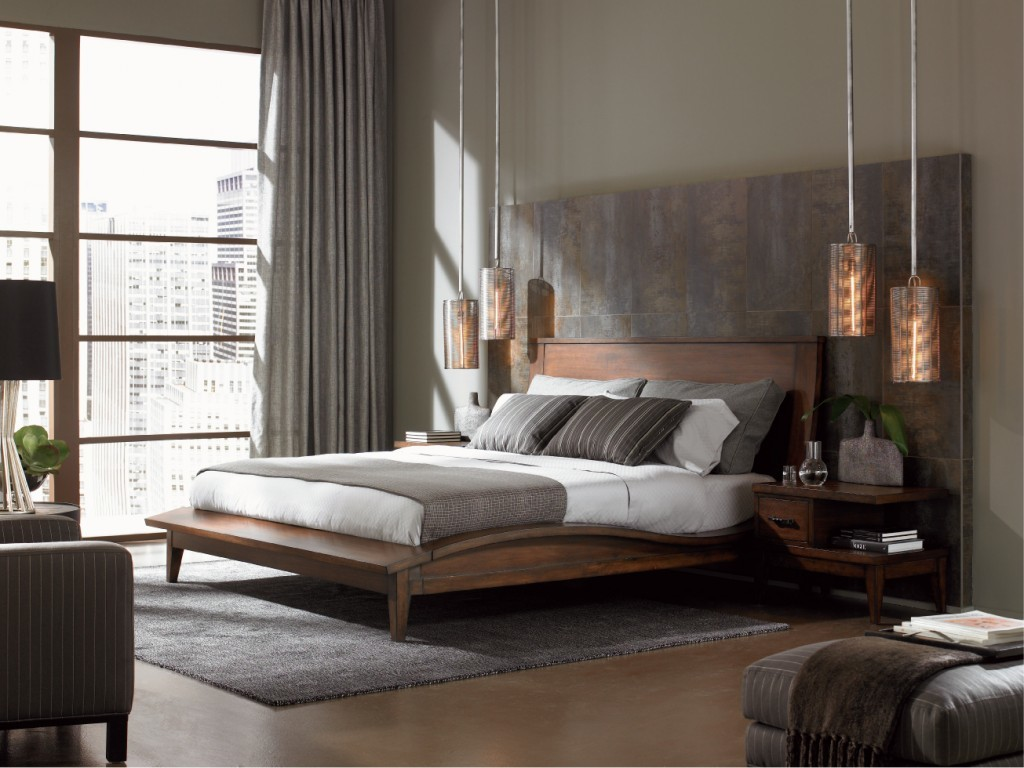 2. contemporary-bedroom-furniture-ideas-with-pendant-lamp-also-drawers-and-dresser-with-grey-rug-contemporary-bedroom-1024x768
