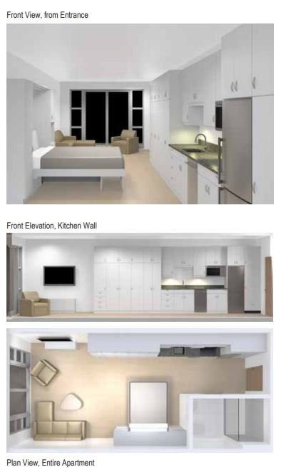 narrow space concept